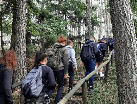 Edukacja ekologiczna w Borach Tucholskich