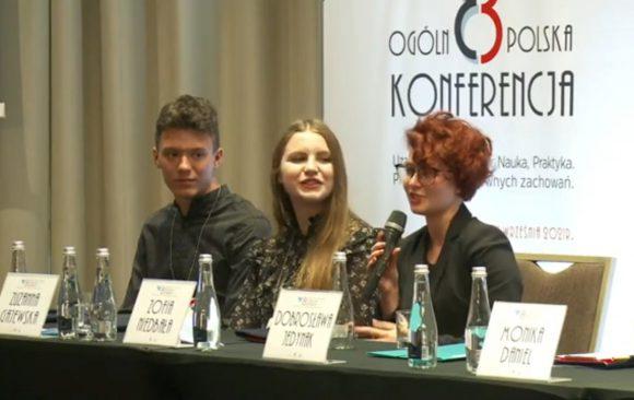 Wolontariusze Staszica na Ogólnopolskiej Konferencji w Warszawie